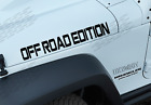 Off Road Edition 3 Pack off road vinyl sticker decal fit Jeep wrangler JK16