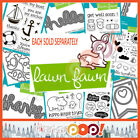 Lawn Fawn Summer 2014 Collection Single Stamp Die Set