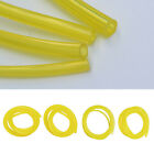 4 Sizes 10 Feet Yellow Smooth Fuel Tube Petrol Diesel Oil Line Hose For Blowers