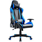 Gaming Chair Gt Racing Adjustable High Back Recline Office Chair Pu Leather 330
