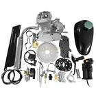 New 2 Stroke 49cc 50cc Bicycle Petrol Gas Motorized Engine Bike Motor Kit Silver