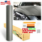 3d Carbon Fiber Matte Textured Vinyl Wrap Sticker Diy Decal Air Bubble Free