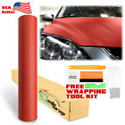 Premium 3d Carbon Fiber Matte Textured Vinyl Wrap Sticker Decal Air Bubble Free