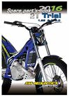 Sherco Parts Manual Book Chassis & Engine 2016 2T TRIAL 125