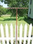 Antique Primitive Wood Landscape Hay Rake Handmade Amish Shaker Style
