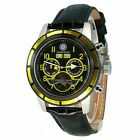Constantin Durmont Men's Automatic Watch CD-PUEB-AT-LT-STYL-BK with Leather S...