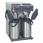 BUNN Dual Airpot Coffee Brewer,15 gal/hr, CWTF Twin APS, Stainless Steel