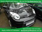 Citroen C1 10i VTR+ GOOD BAD CREDIT CAR FINANCE