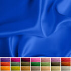 100 Pure Silk fabric Satin 16 momme Multiple Colours 45