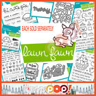 Lawn Fawn Fall  Winter 2016 Collection Single Stamp Die Set