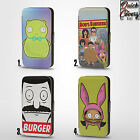 BOBS BURGERS KUCHI LOUISE CARTOON PU LEATHER WALLET FLIP CASE COVER FOR IPHONE