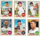 2017 Topps Heritage Short Print SP Lot 401 500 You Pick From List