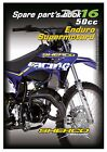 Sherco Parts Manual Book Chassis & Engine 2016 50cc Enduro Supermotard