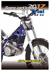 Sherco Parts Manual Book Chassis & Engine 2017 2T TRIAL 125