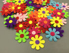 100pcs Flowers Felt Appliques Fabric Flower decoration Sewing Crafts 27mm