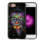 Cool Skull Skeleton Pattern Rubber Soft TPU Back Case Cover for iPhone 7 Plus