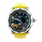 Ladies Chopard Happy Sport Floating Fish Stainless Watch Ref 28/8347/8-402