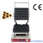 Egg Tarte Pie Waffle Machine Maker Automatic Commercial Dessert 30 Round Shell