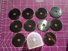 10 45MM ROTARY CUTTER BLADES with Case fits Olfa Fiskars Clover and more
