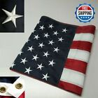 3 x 5 FT Embroidered USA American Flag with Brass Grommet HIGH QUALITY USMC