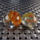 2 Marble King Cats Eye Marbles NM+