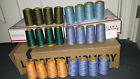 24 Cones Sewing Serger Quilting Thread - 4000 yds ea - BRAND NEW