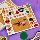 Scrapbooking Template Flower DIY Tools Kit Mould Paper Crafts Quilling Rolling