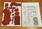 Club Scrap Unmounted Arts  Crafts Rubber Stamps Free Shipping