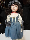 Knightsbridge Collection Bisque Porcelain Doll Victoria, Limited Edition, COA