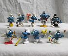 Smurf figures BULLY lot PEYO West Germany Rare vintage Smurfs cupid pvc toys