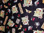 Mary ENGELBREIT Home Sweet Home Cherries 100% Cotton Quilt Fabric