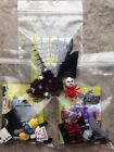 LEGO MINIFIGURES MONSTERS 71010 SPIDER LADY, MAD SCIENTIST AND ZOMBIE PIRATE