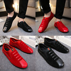 2017 New Leather Slip On Mens Driving Moccasin Loafer Casual Shoes