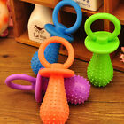 Random Color Rubber Pacifier Puppy Dog Chewing Molar Play Toy Pet Supplies Hot