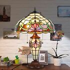 Tiffany Style Table Lamp Victorian Desk Lamp Stained Glass Home Decor Lamp