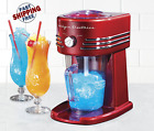 Frozen Drink Machine Margarita Slush Maker Shaved Ice Retro Series Beverage Red
