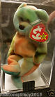 Ty Beanie Babies GARCIA RARE misprint POEM PVC MWMT MUSEUM QUALITY AUTHENTICATED