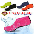 Men Women Skin Water Shoes Aqua Beach Socks Yoga Exercise Pool Swim Unisex Adult