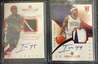 RC isaiah thomas immaculate patch auto LOT rare 25 RED 2 cards RC