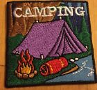 Boy or Girl Scout Camping Fun Patches Badge Set of 4
