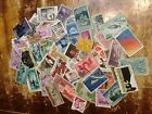 Vintage US Stamps Lot Of 50+ Used Off Paper No Doubles free shipping offer