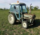 Ford 3600 tractor plus loader and bucket on grass tyres  AG tires available