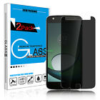 Privacy Anti Spy Tempered Glass Screen Protector for Motorola Moto Z Play Droid