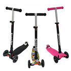 Kick Led Scooter Kids 3 Wheels Outdoor Ride Push Exercise Scooter Bike