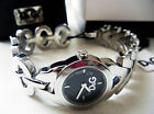 D&G Dolce&Gabbana Women's Wrist Watch Silver Stainless Steel NIB