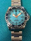Deep Blue Master 2000 SMURF DIAL Swiss ETA 2824 - RARE ORIGINAL LIMITED EDITION!