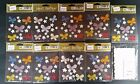 JOLEES BOUTIQUE LOT 9 SEALED PACKAGES BUTTERFLIES  FLOWERS STICKERS + GIFT