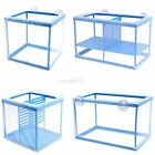 Fish Breeder Mesh Net Fry Saver Aquarium Isolation Spawn Hatchery Incubator