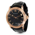 Blanc Pain Leman Big Date 2850A Men's Watch in 18K Rose Gold
