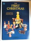 The First Christmas A Golden Book 1982 Press Out Nativity Scene